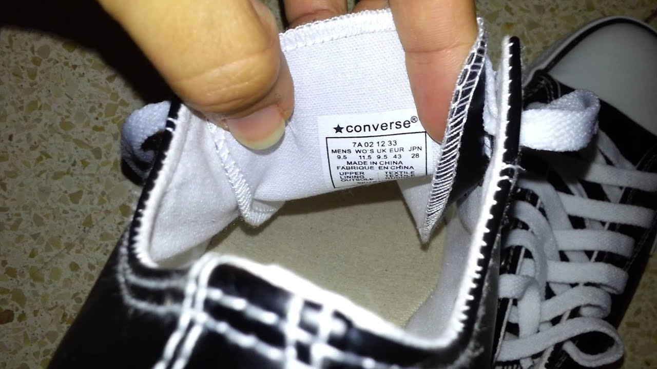 Converse Shoes Made In Vietnam