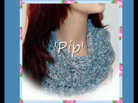 Pip Easy Cable Cowl Neck Scarf Chunky Yarn Knitting Pattern - YouTube