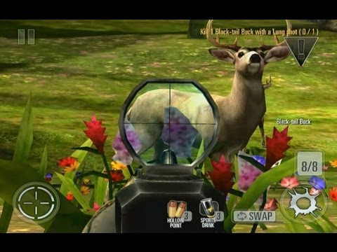 Deer Hunter 2014 gameplay Android, iOS