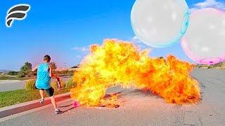 GAS FILLED WUBBLE BUBBLE! (EXPLOSION)