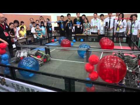 Asia Pacific Robotics Championship 2013 China Qualifier High School F3