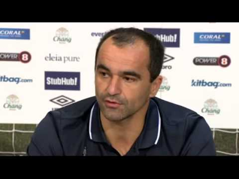 Aston Villa are a threat, says Everton's Roberto Martínez – video   Football   The Guardian