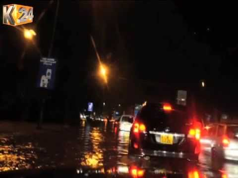 Heavy Rains In Nairobi Result To Flooding Of Most City Roads