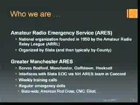 Amateur Radio in Bedford, NH