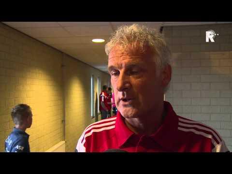 Fred Rutten na afloop van FC Emmen - Feyenoord