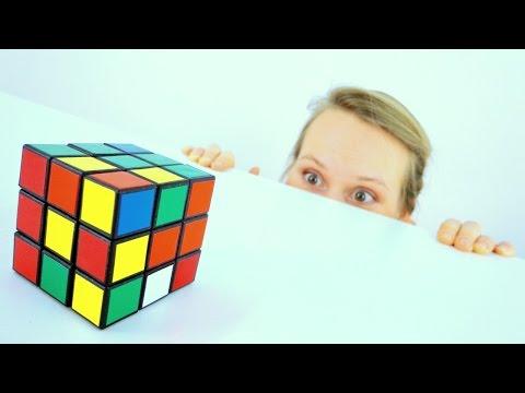 Видео для детей. Головоломка - Кубик Рубика