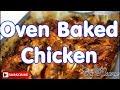 Best oven baked chicken for Christmas dinner recipe !!