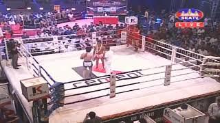 Roeung sophorn Vs Thai Oulek,Khmer Vs Thai (Muay Thai) SeaTv Boxing 2019