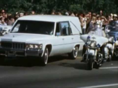 Elvis' Funeral (Long black limousine)