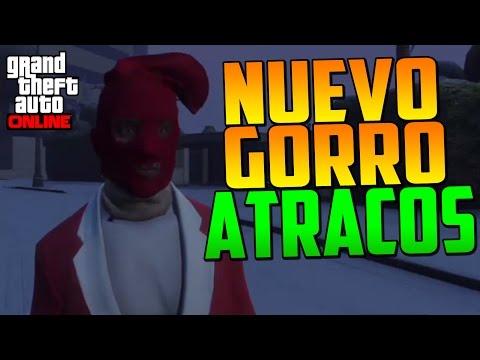 GAMEPLAY DEL NUEVO GORRO PARA ATRACOS A BANCOS!!! - Gameplay GTA 5 Online (GTA V PS4)