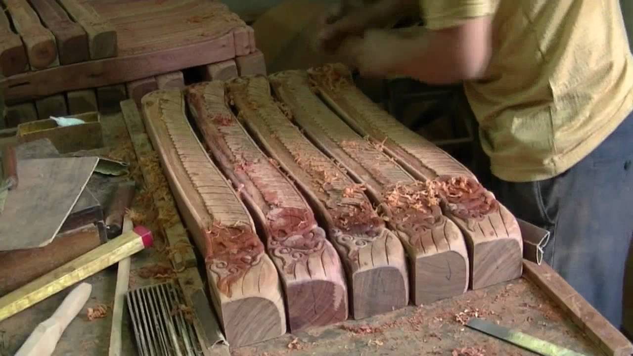 China Furniture And Arts Rosewood Furniture The Process And The Making Youtube