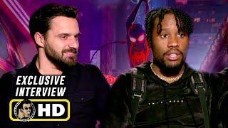 """Shameik Moore & Jake Johnson Exclusive """"Spider-Man: Into The Spider-Verse"""" Interview"""