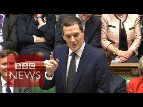 George Osborne U-turn over tax credits - BBC News