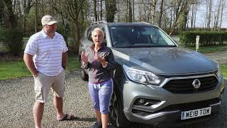 Here we Tow (Karina and Jules) talk about their SsangYong Rexton