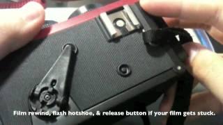 (RED) BlackBird Fly 35mm Film Camera Review
