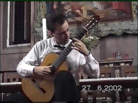 Bruno Giuffredi plays 5 Preludes - Miguel Llobet,