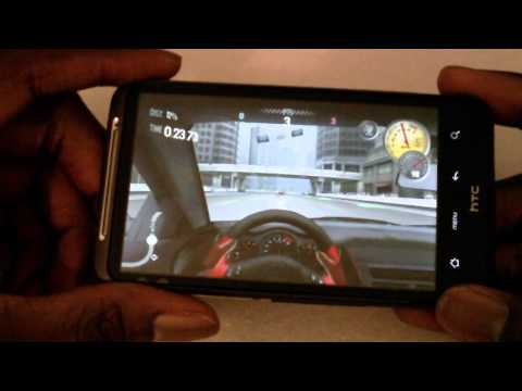 Games on the HTC Desire HD