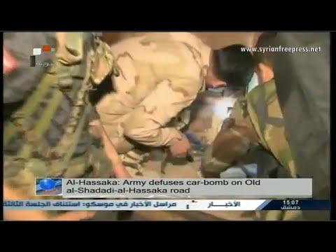 Syria News 8/4/2015, Army defuses car-bomb in al-Hassaka, kills terrorists in different regions