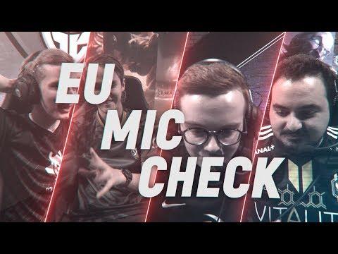 EU LCS Mic Check: Week 2 | Spring Split 2018