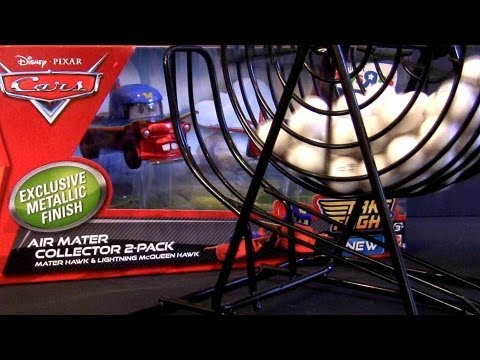 """Cars 2 AIR MATER Metallic Finish 2-pack Hawk McQueen Disney Toys""""R""""Us contest results"""