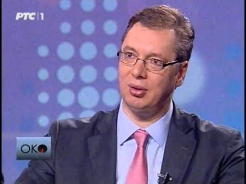 Aleksandar Vučić, intervju za RTS