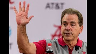Nick Saban press conference, Dec. 15, 2017