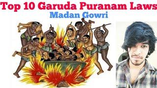 Top 10 Garuda Puranam Laws   Tamil   Madan Gowri   MG