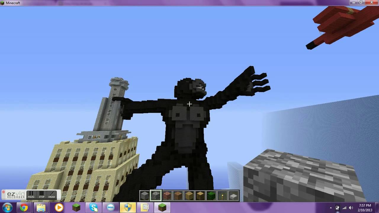 How To Build King Kong In Minecraft