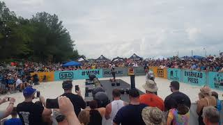 Trey Mitchell III vs Adam Bishop Pressmedley WSM 2019