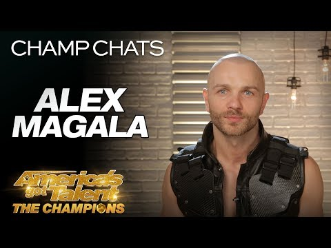 Alex Magala Recaps His Most Dangerous Act EVER - America's Got Talent: The Champions