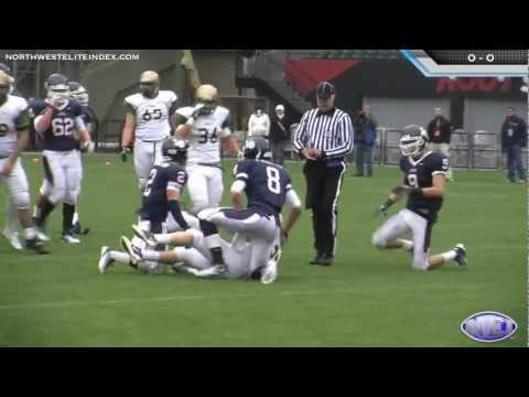 Jesuit vs. Lake Oswego 2011 Oregon 6A Football Semifinal Highlights - 12/3/11