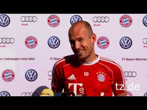 """FC Bayern - Robben sieht Hitzlsperger-Outing gelassen: """"Prima, sehr gut"""""""
