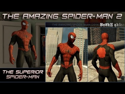 The Amazing Spider-Man 2 The Superior Spider-Man skin [BzekE Skins]