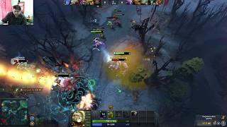 Live Dota2 - gameplay cu romani si solo