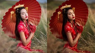 How I Add Warm Tones and More Contrast, Photoshop Tutorial