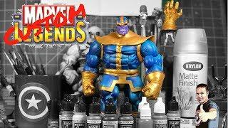 Thanos Custom Action Figure TUTORIAL⚡️⚡️⚡️