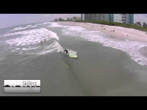SkiBerg Aerial Videography and Photography - Surfing - Satellite Beach, FL