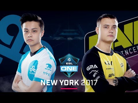 CS:GO - Cloud9 vs. Na'Vi [Inferno] - Group A - ESL One New York 2017