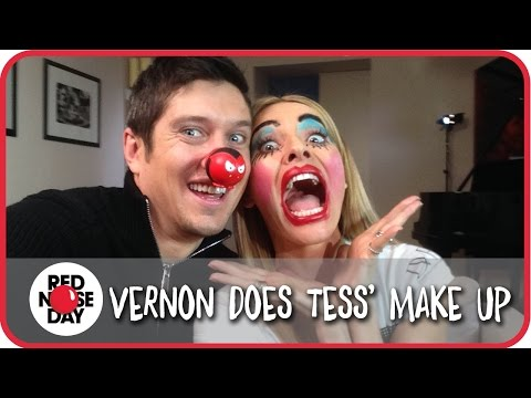 Vernon Makes Tess's Face Funny For Money