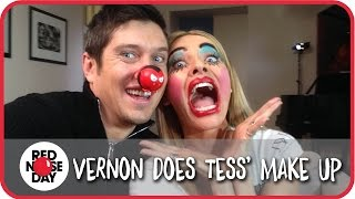 Vernon Makes Tess's Face Funny For Money