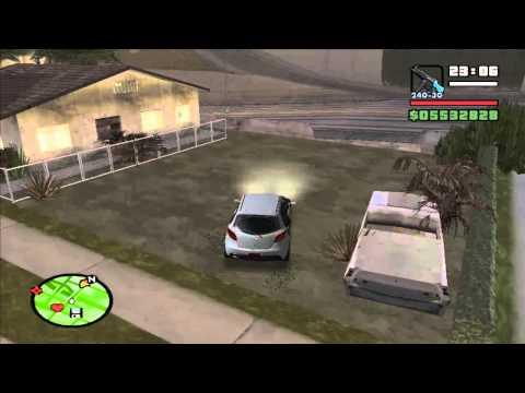 สอนลง GPS เเละ ล็อกรถ GTA SAN (พร้อมวิธีใช้)