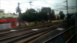 PART 2: BLASTING THROUGH LILUAH, BELUR, BALLY HOWRAH - NEW DELHI RAJDHANI EXPRESS