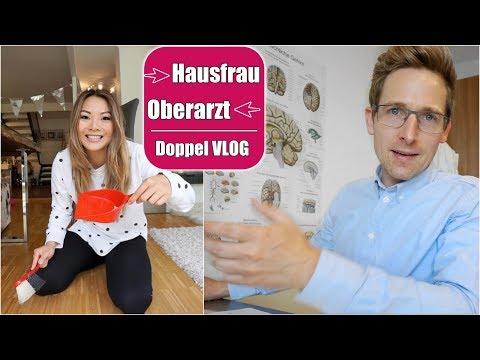 Justus Arbeit als Arzt & Mama Haushalt Alltag | Johanns erste Geschichte | Doppel VLOG | Mamiseelen