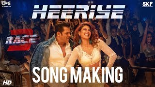 Heeriye Song Making - Race 3 Behind the Scenes | Salman Khan, Jacqueline Fernandez | Remo D'Souza