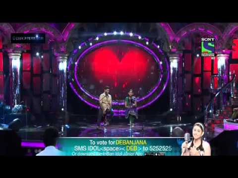Arijit singh indian idol junior- Tum hi ho
