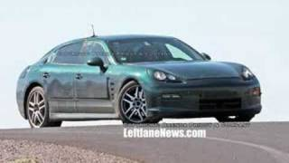 First offical Panamera image