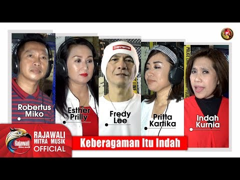 Download Various Artists Rajawali - Keberagaman Itu Indah Indah, Pritta, Esther, Fredy, Miko Mp4 baru