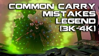 Dota 2: Common Carry Mistakes in the Legend (3k-4k) Bracket | How To Play Dota 2
