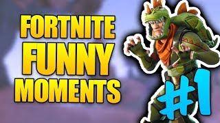 FORTNITE FUNNY MOMENTS AND CLUTCHES #1