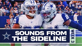Sounds From The Sideline: Week 3 Dolphins vs Cowboys | Dallas Cowboys 2019